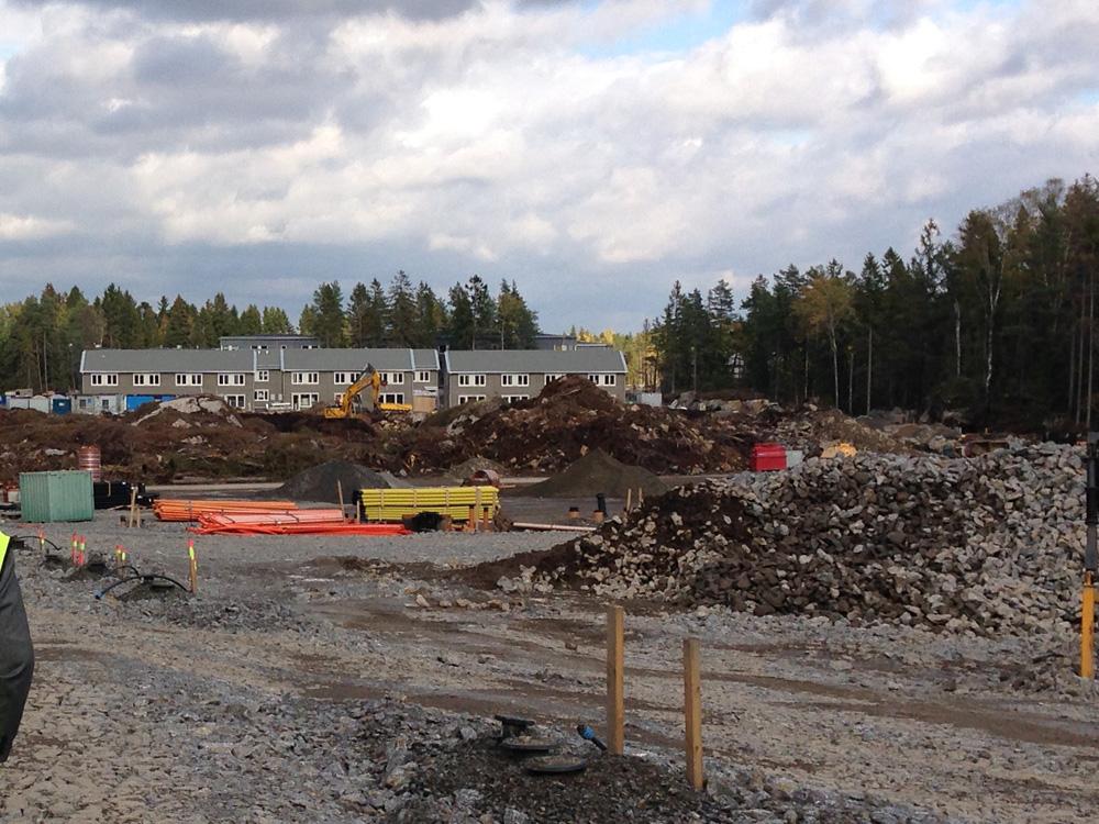 Förskolan Spetsbergen byggnation