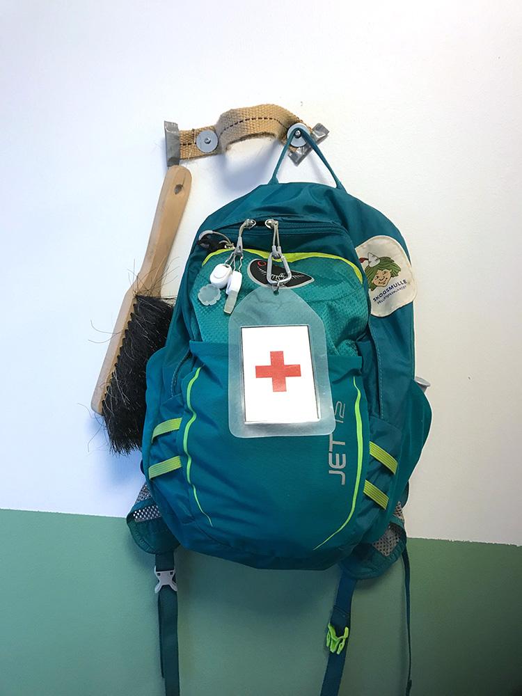 Förskolan Spetsbergen ryggsäck